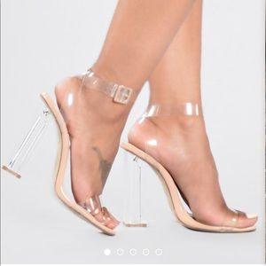 Transparent/Clear High Heels